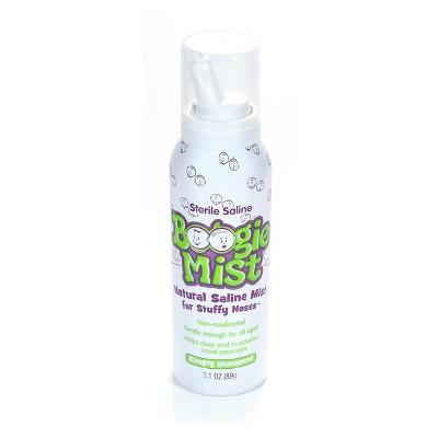 Boogie Mist Unscented Sterile Saline Spray - 3oz