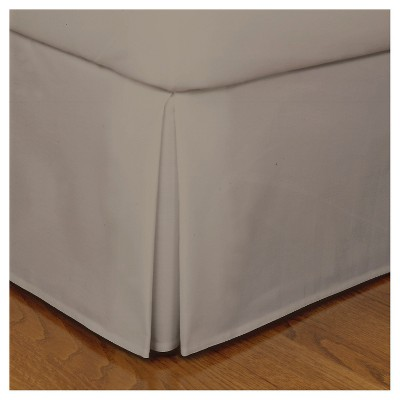 Mocha Tailored Microfiber 14  Bed Skirt (Queen)
