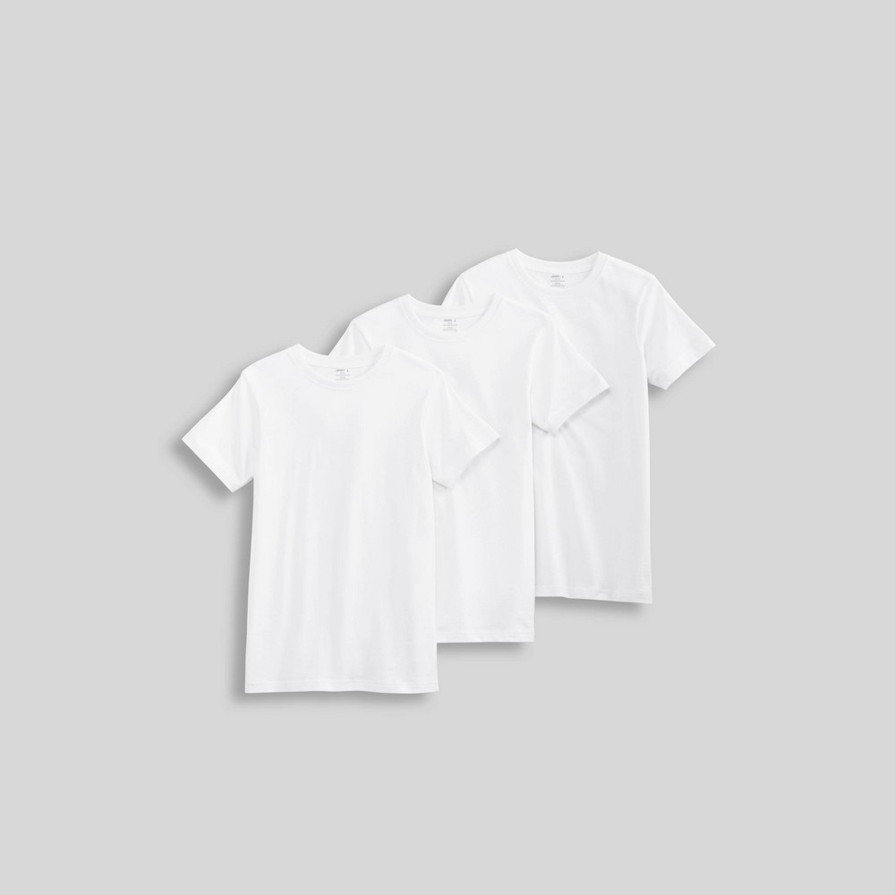 Image of Jockey Generation Boys' Cotton Crew Undershirt - White L, Boy's, Size: XL