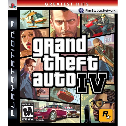 Grand Theft Auto IV PlayStation 3 - image 1 of 1