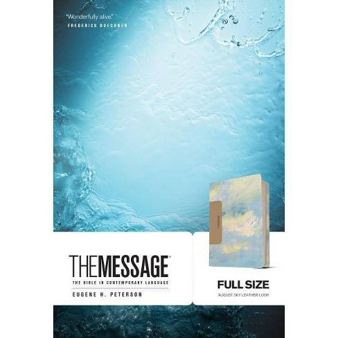 The Message Full Size - (Leather Bound) - image 1 of 1