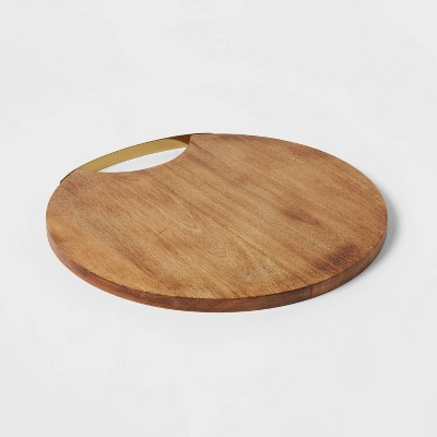 "13"" Mango Wood Serving Board - Threshold™"