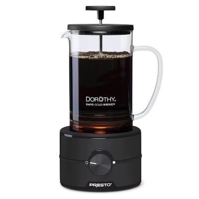 Presto Dorothy Rapid Cold Brew Coffee Maker - Black