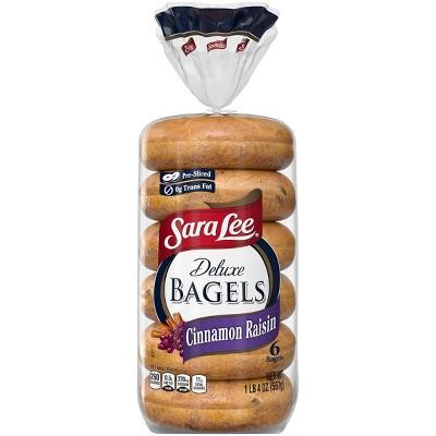 Sara Lee Cinnamon Raisin Bagels - 20oz