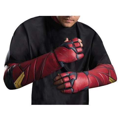 Adult Justice League Movie The Flash Gloves - image 1 of 1