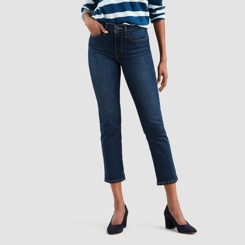 Levi's® Womens 724 High Rise Straight Leg Jeans To The Nine