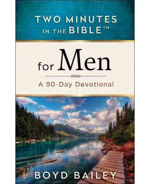 Two Minutes in the Bible for Men (Paperback) (Boyd Bailey) - image 1 of 1