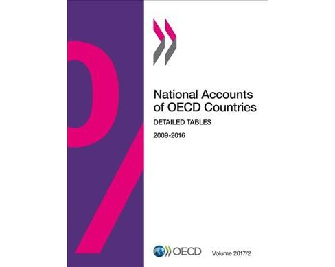 National Accounts of Oecd Countries : Issue 2: Detailed Tables -  (Paperback) - image 1 of 1