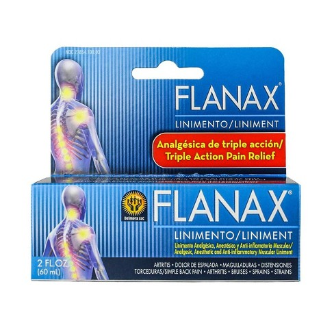Flanax Triple Action Pain Relief Ointment - Methyl Salicylate 20% - 2oz - image 1 of 2