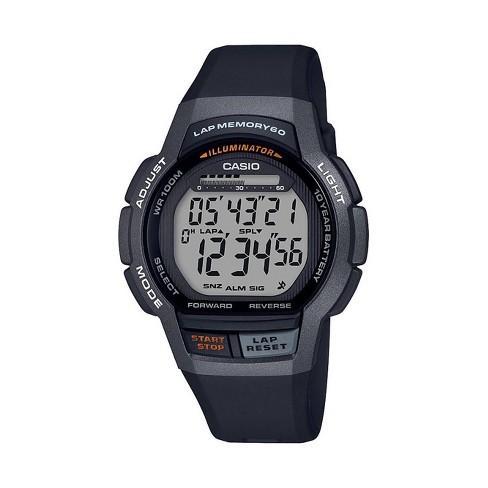 99bd5d47f15b Men s Casio Digital Sports Watch - Black   Target