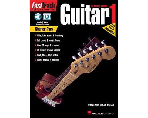 Guitar 1 Starter Pack : Electric or Acoustic -  by Blake Neely & Jeff Schroedl (Paperback) - image 1 of 1