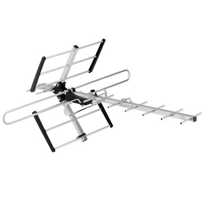 Monoprice Long Range Directional Outdoor VHF and UHF HDTV Antenna, 70 Mile Range, Anti-Rust, Waterproof and Weather Resistant