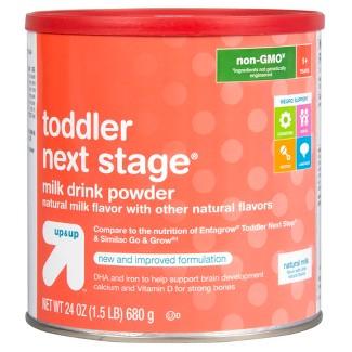 Toddler Next Stage Formula (Compare to Enfagrow® Toddler Next Step & Similac Go & Grow) - 24oz - Up&Up™