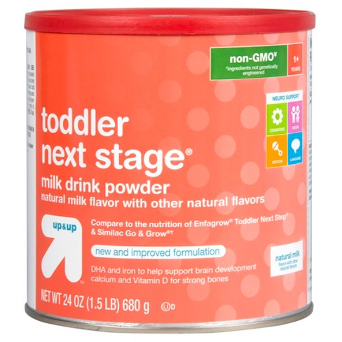 Toddler Next Stage Formula (Compare to Enfagrow® Toddler Next Step & Similac Go & Grow) - 24oz - Up&Up™ - image 1 of 1