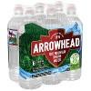 Arrowhead Brand 100% Mountain Spring Water - 6pk/23.7 fl oz Sports Cap Bottles - image 2 of 4