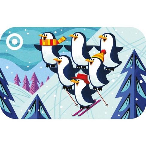 Penguin Ski Stack GiftCard - image 1 of 1