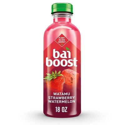 Bai Boost Strawberry Watermelon Flavored Water - 18 fl oz Bottle