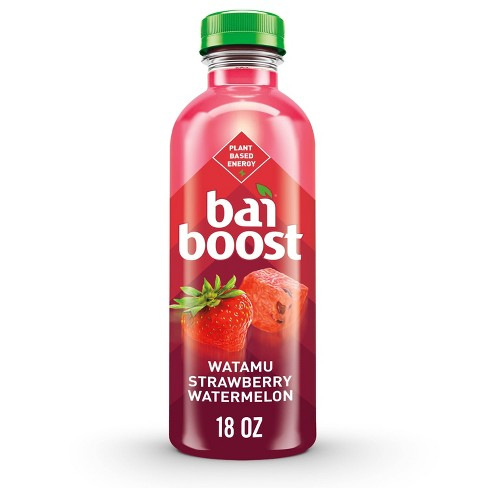 Bai Boost Strawberry Watermelon Flavored Water - 18 fl oz Bottle - image 1 of 4