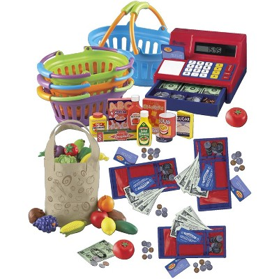 Childcraft Market and Grocery Shopping Roleplay Package, 106 pc
