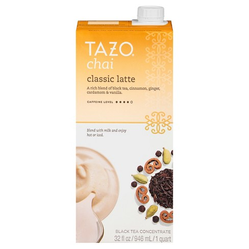 Tazo Classic Latte Chai Black Tea - 32oz - image 1 of 2