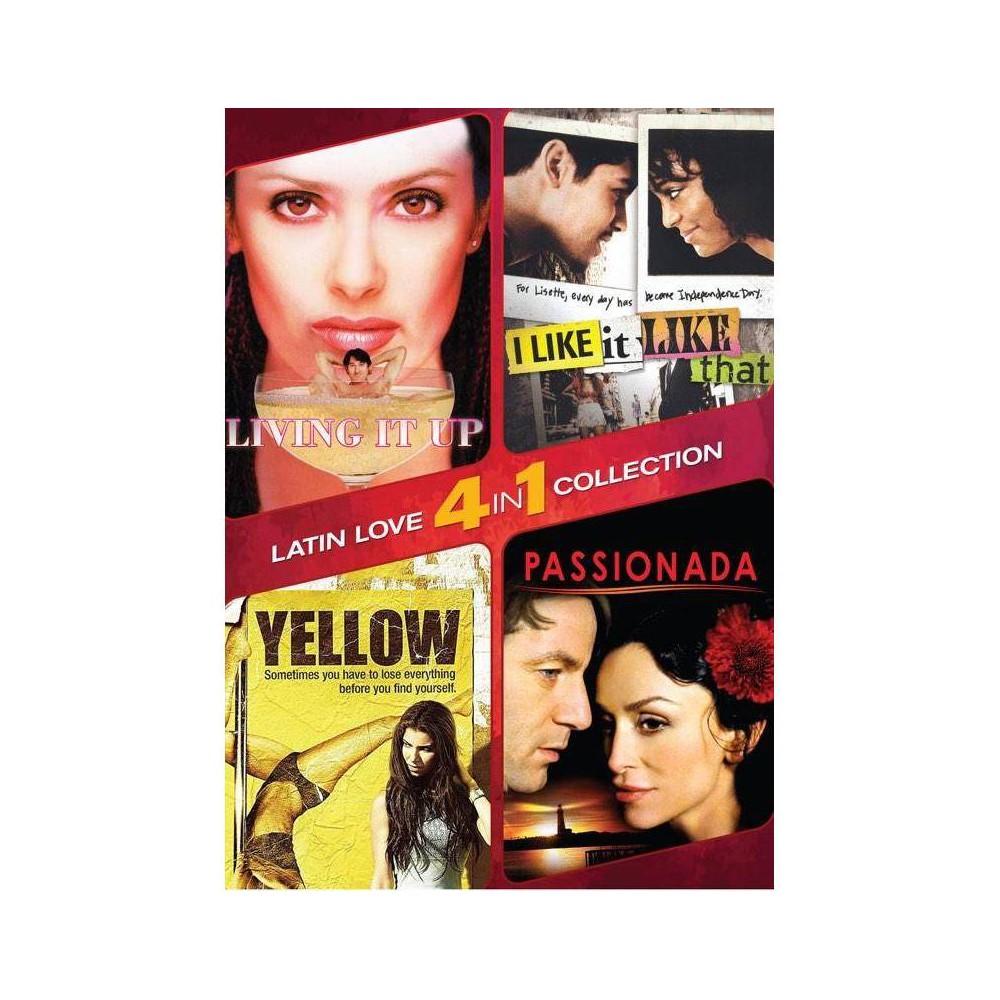 4 In 1 Latin Romance Dvd