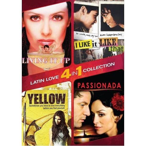4-in-1 Latin Romance (DVD) - image 1 of 1