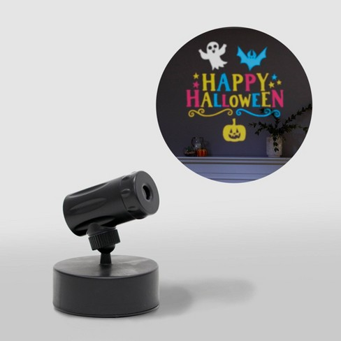 Philips Blue Yellow Pink Happy Halloween Battery Operated Led Projector Target