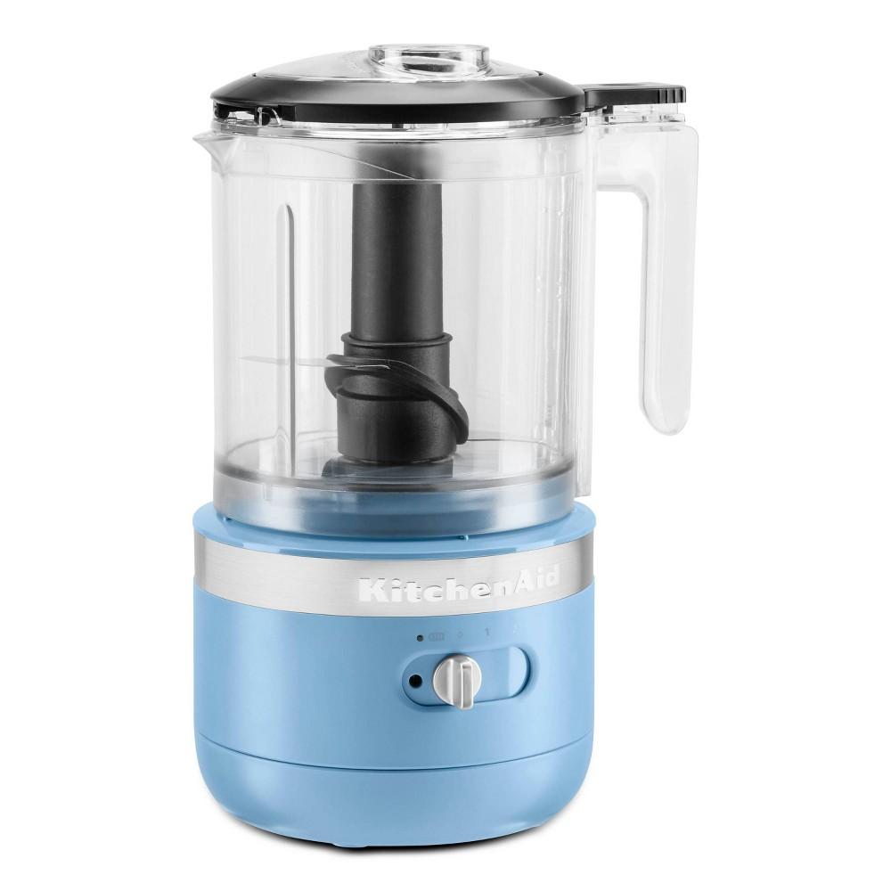 Kitchenaid Variable Speed Cordless Chopper Blue Velvet