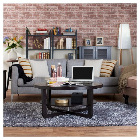Ton Modern Interlocking Base Round Coffee Table Cuccino Homes Inside Out Target