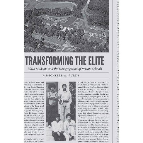 Transforming the Elite - by  Michelle a Purdy (Paperback) - image 1 of 1