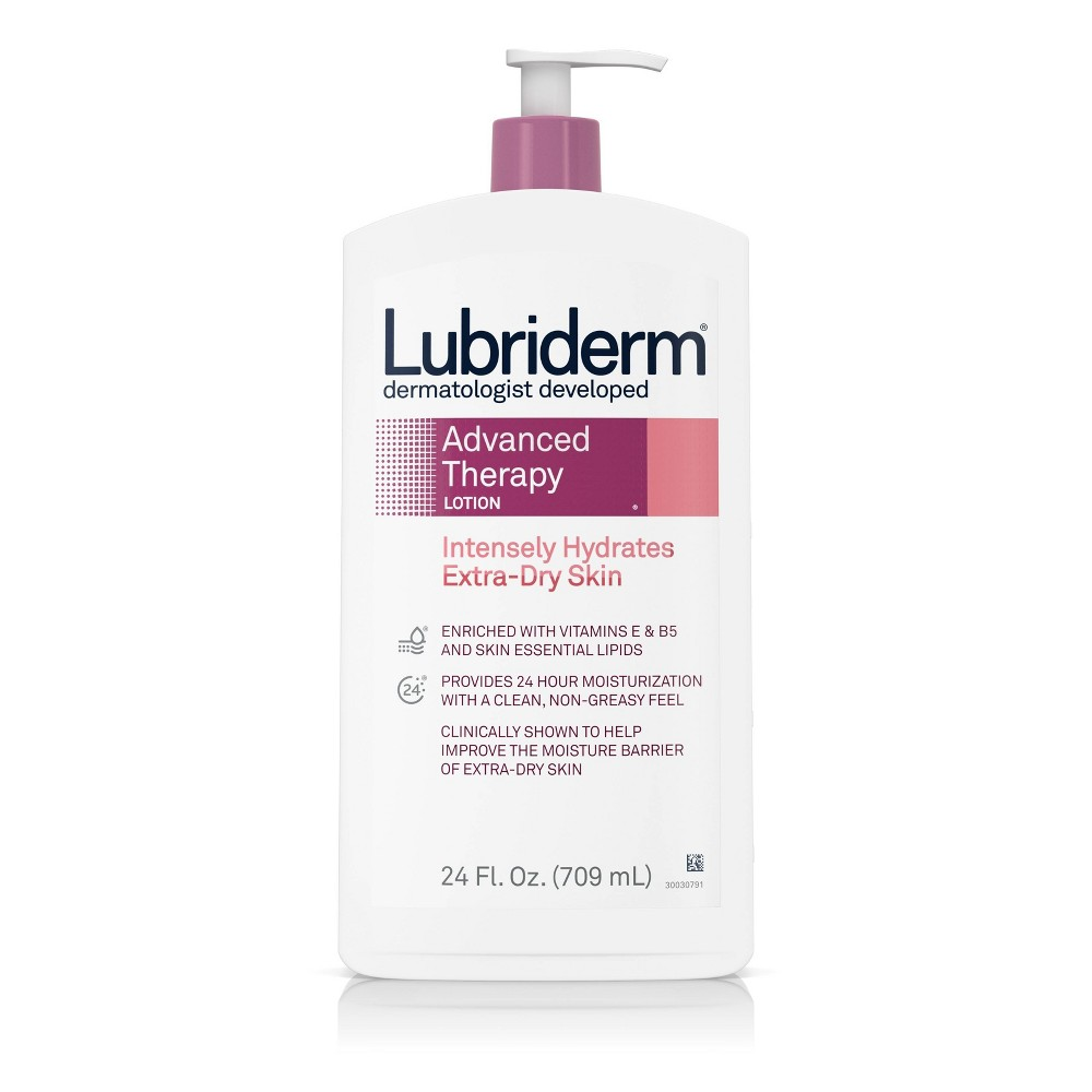 Image of Lubriderm Advanced Therapy Lotion For Extra Dry Skin - 24 fl oz