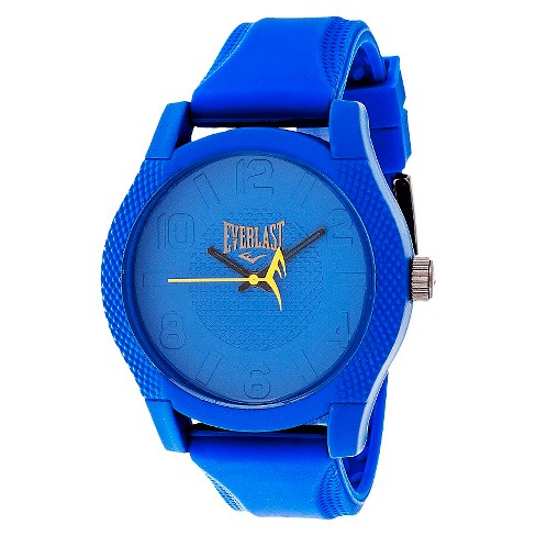 Everlast&#174 Men's Analog Monochrome Watch Blue - image 1 of 1
