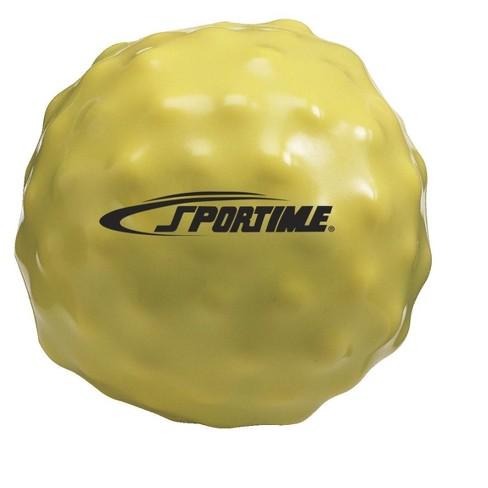 Sportime Yuck-E-Medicine Ball, 2 Pounds, Yellow - image 1 of 1