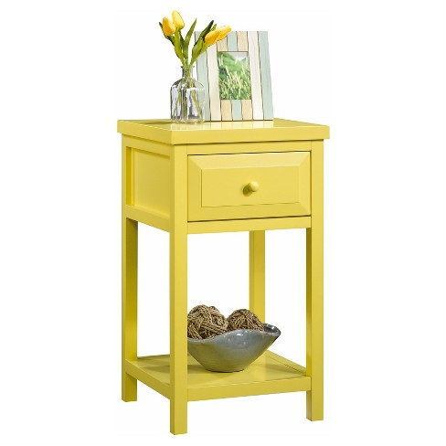 Cottage Road Side Table - Yellow Pantone - Sauder - image 1 of 1