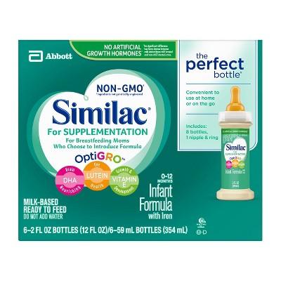 Similac 6pk Supplementation Infant Formula - 12oz