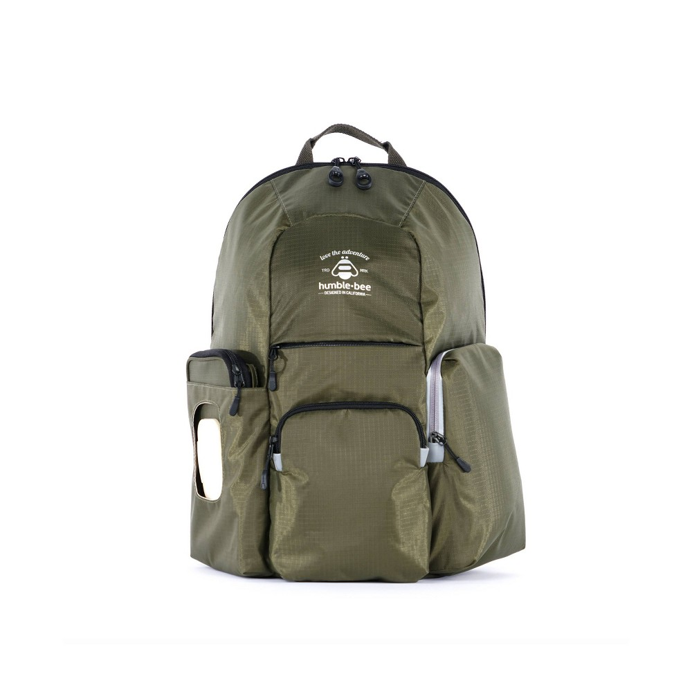 Image of Humble-Bee Free Spirit SP Diaper Backpack - Olive Dusk, Green
