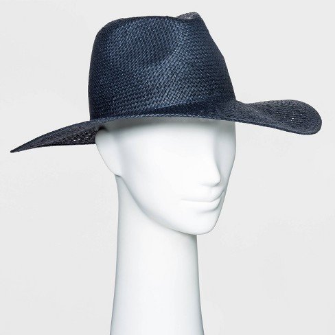 Women's Open Weave Straw Panama Hat - Universal Thread™ - image 1 of 1