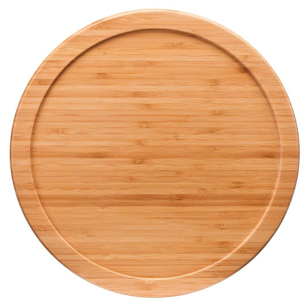 "Image of ""Lipper International Bamboo Turntable (10"""")"""