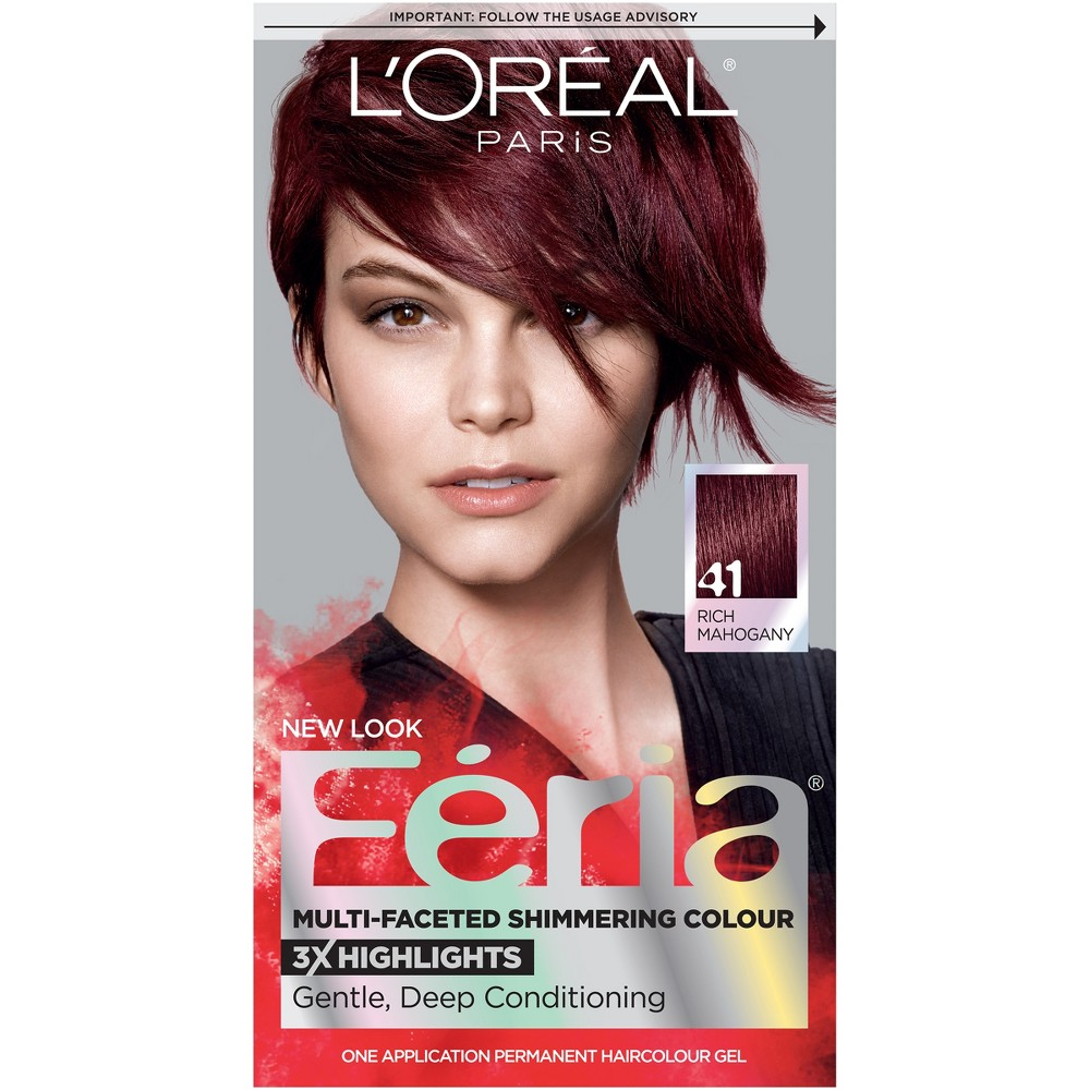 Loreal Mahogany Hair Color Hair Care Compare Prices At Nextag