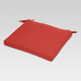 Outdoor Square Seat Cushion - Red - Threshold™