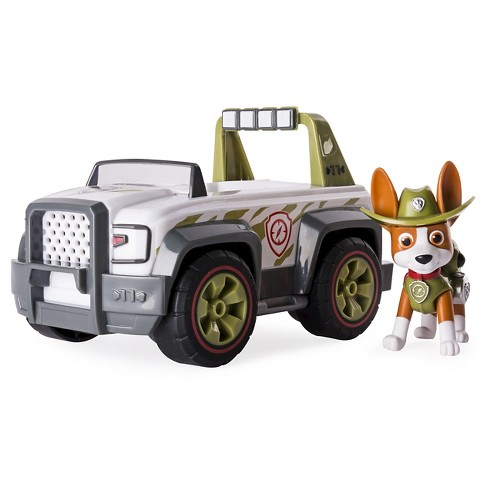 paw patrol jungle rescue tracker s jungle cruiser vehicle and