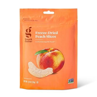Freeze Dried Peach Slices - 1.25oz - Good & Gather™