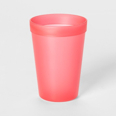 13.5oz Plastic Kids Tall Tumbler Pink - Pillowfort™