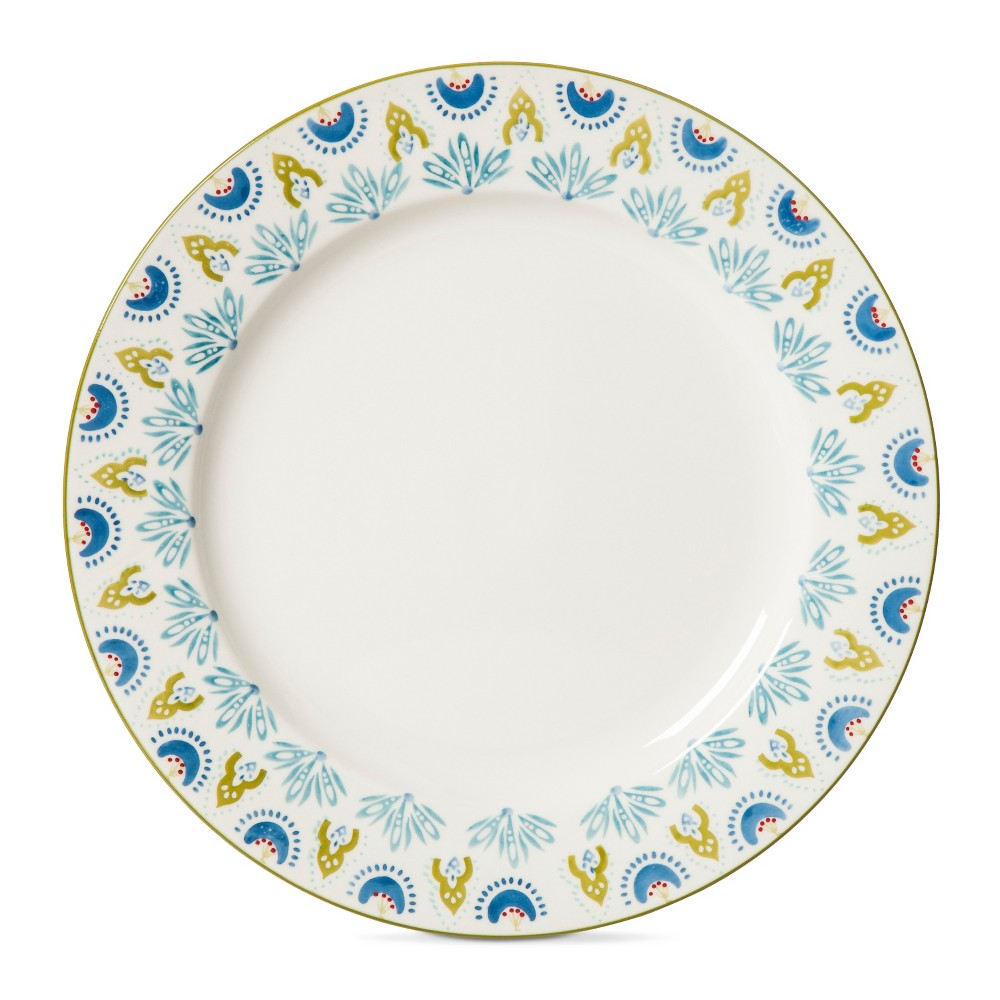 Image of Kennex Stoneware Dinner Plates 10.25 - White - Set of 4