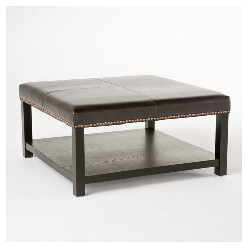 Julia Ottoman - Brown - Christopher Knight Home - image 1 of 4