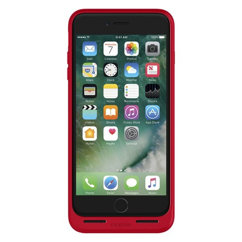huge selection of 90162 577e0 Mophie iPhone 8 Plus/7 Plus Rechargeable Case Juice Pack Air - Red