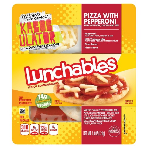 Oscar Mayer Lunchables Pepperoni Pizza 4.3 oz - image 1 of 1