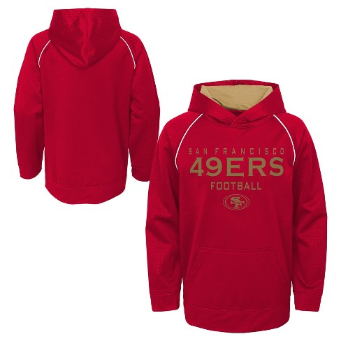 d023da32b San Francisco 49ers Boys  In the Game Poly Embossed Hoodie XL   Target