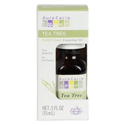 Aura Cacia Tea Tree Cleansing Essential Oil - 0.5 oz