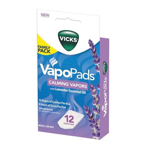 Vicks VapoPads - Lavender - 12ct - image 1 of 3
